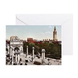 Naval Arch Madison Sq. Garden Greeting Cards (Pk o