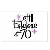 Still Fabulous at 70 Postcards (Package of 8)
