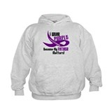 I Wear Purple For My Father 33 PC Hoodie