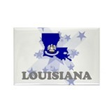 All Star Louisiana Rectangle Magnet (10 pack)