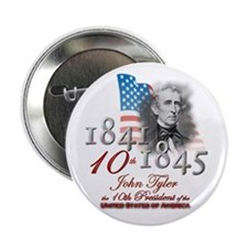 "10th President - 2.25"" Button"