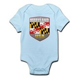 Maryland USA Crest Infant Bodysuit