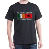 Irish Albanian heritage flag T-Shirt