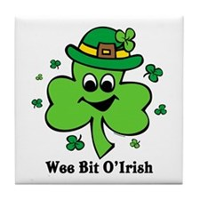 Wee Bit O' Irish Tile Coaster