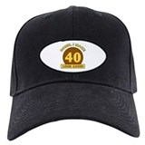 40th Birthday Gag Gift Baseball Hat