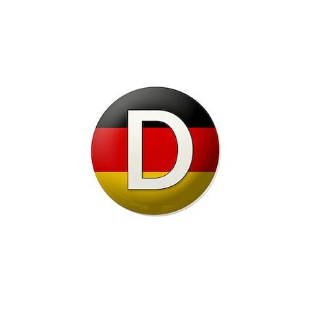 German language Mini Button (100 pack)