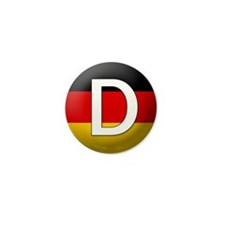 German language Mini Button (10 pack)