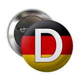 "German language 2.25"" Button (10 pack)"