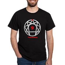 Enneagram 9 w text White T-Shirt