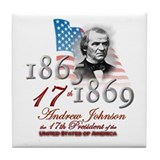 17th President - Tile Coaster