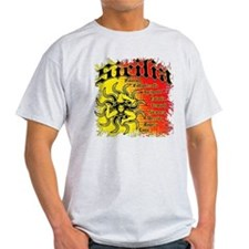 The 9 Provinces of Sicily T-Shirt