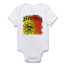 The 9 Provinces of Sicily Onesie