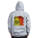 The 9 Provinces of Sicily Zip Hoodie