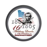 16th President - Wall Clock
