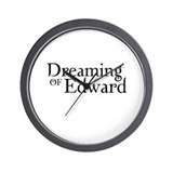 Dreaming of Edward Wall Clock