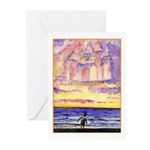 Thoreau's Sunset Greeting Cards (Pk of 10)