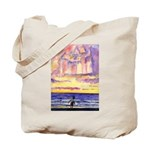 Thoreau's Sunset Tote Bag