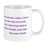 Thoreau's Sunset Mug