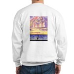Thoreau's Sunset Sweatshirt