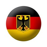 "German State flag 3.5"" Button"