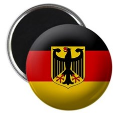 "German State flag 2.25"" Magnet (100 pack)"