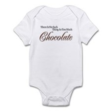 Chocolate Saying Infant Bodysuit