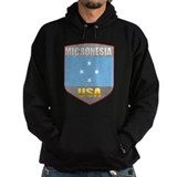 Micronesia USA Crest Hoodie