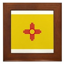 Beloved New Mexico Flag Moder Framed Tile