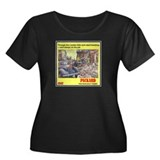 """1945 Packard Ad"" Women's Plus Size Scoop Neck Dar"