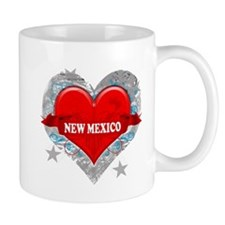 My Heart New Mexico Vector St Mug