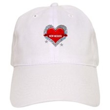My Heart New Mexico Vector St Baseball Cap