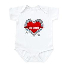 My Heart New Mexico Vector St Infant Bodysuit