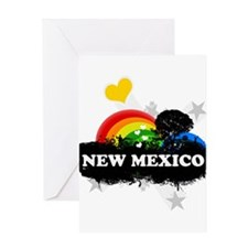 Sweet Fruity New Mexico Greeting Card