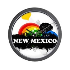 Sweet Fruity New Mexico Wall Clock