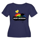 Sweet Fruity New Mexico Women's Plus Size Scoop Ne
