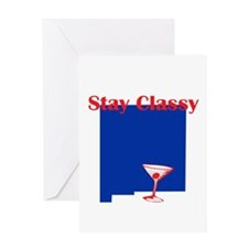 Stay Classy New Mexico Greeting Card
