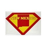 Super Star New Mexico Rectangle Magnet