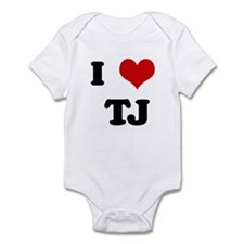 I Love TJ Infant Bodysuit