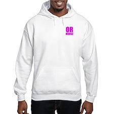 Bold RN pink Hoodie