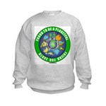 Planetpals Earthday Everyday Kids Sweatshirt