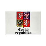 Czech Rep: Heraldic Rectangle Magnet