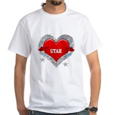 My Heart Utah Vector Style Shirt