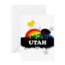 Sweet Fruity Utah Greeting Card