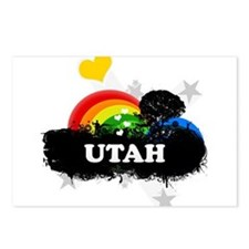 Sweet Fruity Utah Postcards (Package of 8)