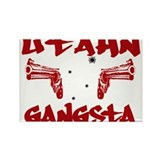 Utahn Gangsta Rectangle Magnet (10 pack)