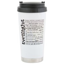 Twilight Quotes Ceramic Travel Mug