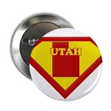 "Super Star Utah 2.25"" Button"