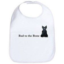 Scottie Bad to the Bone Bib