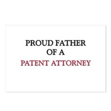 Proud Father Of A PATENT ATTORNEY Postcards (Packa