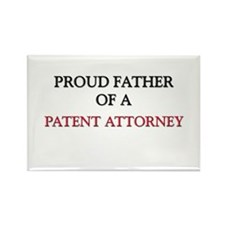 Proud Father Of A PATENT ATTORNEY Rectangle Magnet